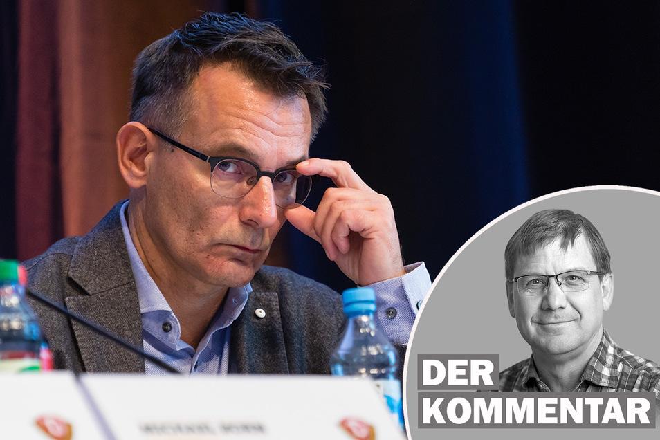 Michael Born ist nicht mehr Geschäftsführer von Dynamo Dresden. SZ-Sportredakteur Sven Geisler kommentiert die Entscheidung,