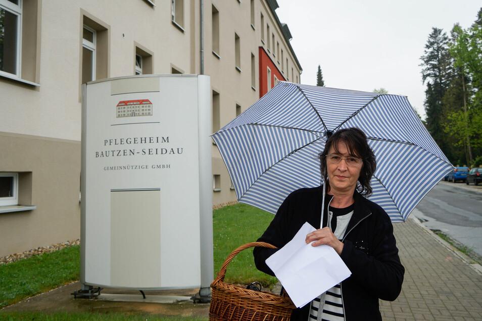 Erst im März ist der Eigenanteil für die Bewohner im Pflegeheim Bautzen-Seidau, wo auch die Schwiegermutter von Marita Scholte lebt, erhöht worden. Ab Juni soll sie schon wieder mehr bezahlen.
