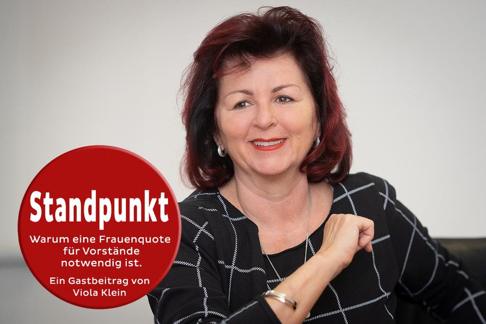 Unternehmerin Viola Klein hielt die Frauenquote für Führungspositionen in der Wirtschaft lange für unnötig. Sie hat ihre Meinung geändert.