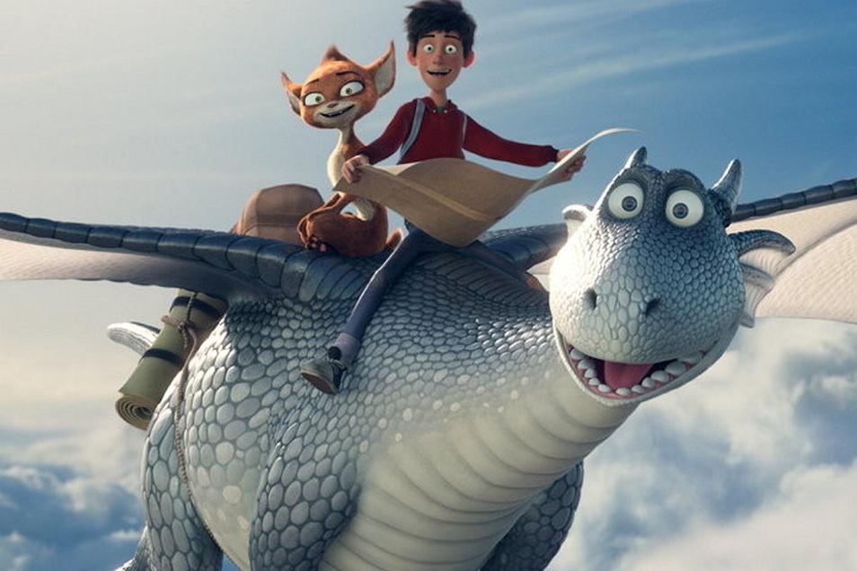 """Der Film """"Drachenreiter"""" wird am Sonnabendabend beim Kino-Open-Air als nachgeholtes Kindertags-Fest gezeigt."""
