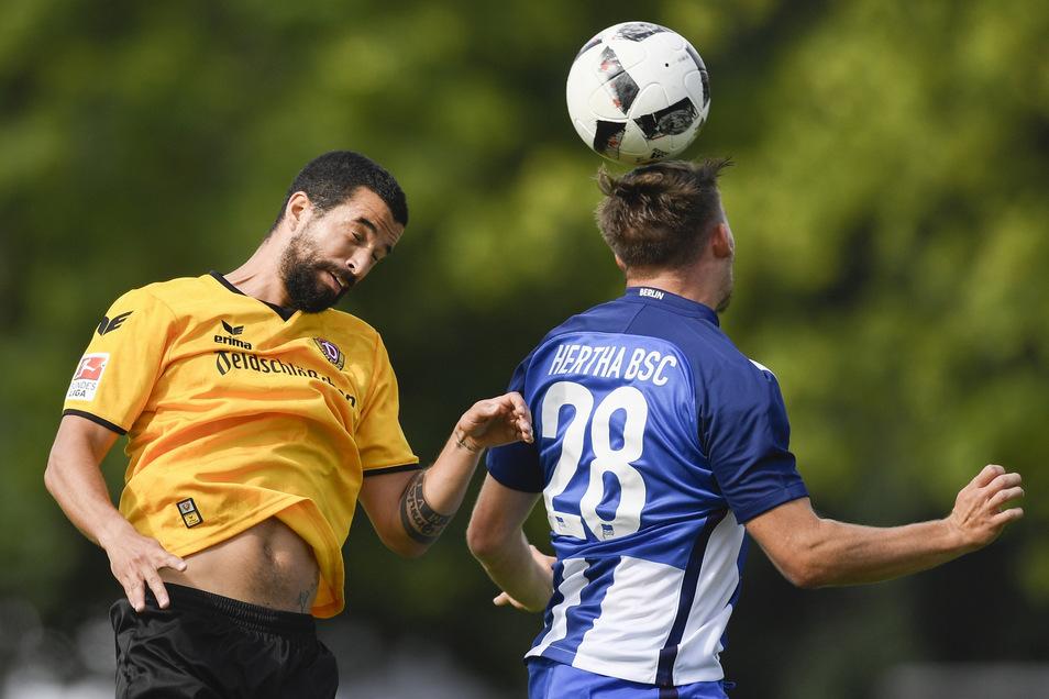 Dynamo gegen Hertha - dieses Duell gab es schon öfter, aber noch nie im Pokal.