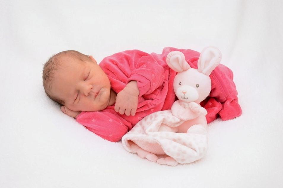 Sajana, geboren am 30. Juni, Geburtsort: Städtisches Klinikum Dresden, Gewicht: 3.000 Gramm, Größe: 48 Zentimeter, Eltern: Anja Kohl und Steffen Bachofner, Wohnort: Dresden