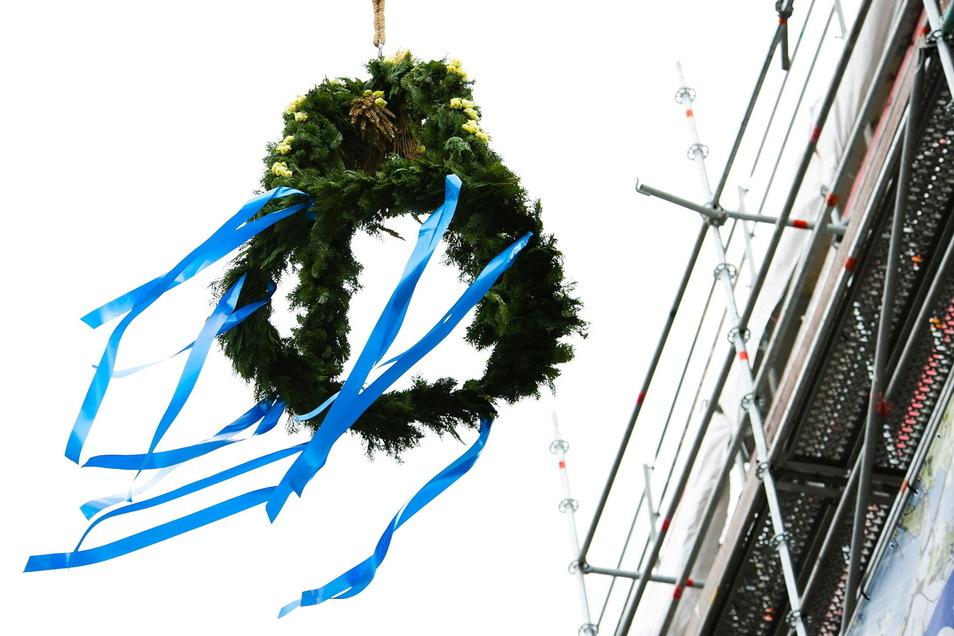 Richtfest konnte voriges Jahr auf vielen Baustellen im Landkreis Görlitz gefeiert werden.