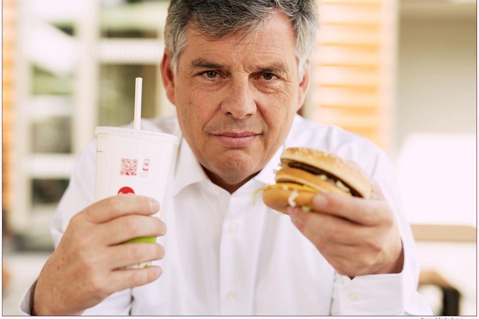 Harald Sükar war 13 Jahre lang Spitzenmanager bei McDonald's Österreich. Jetzt ist er Vegetarier und Unternehmensberater.