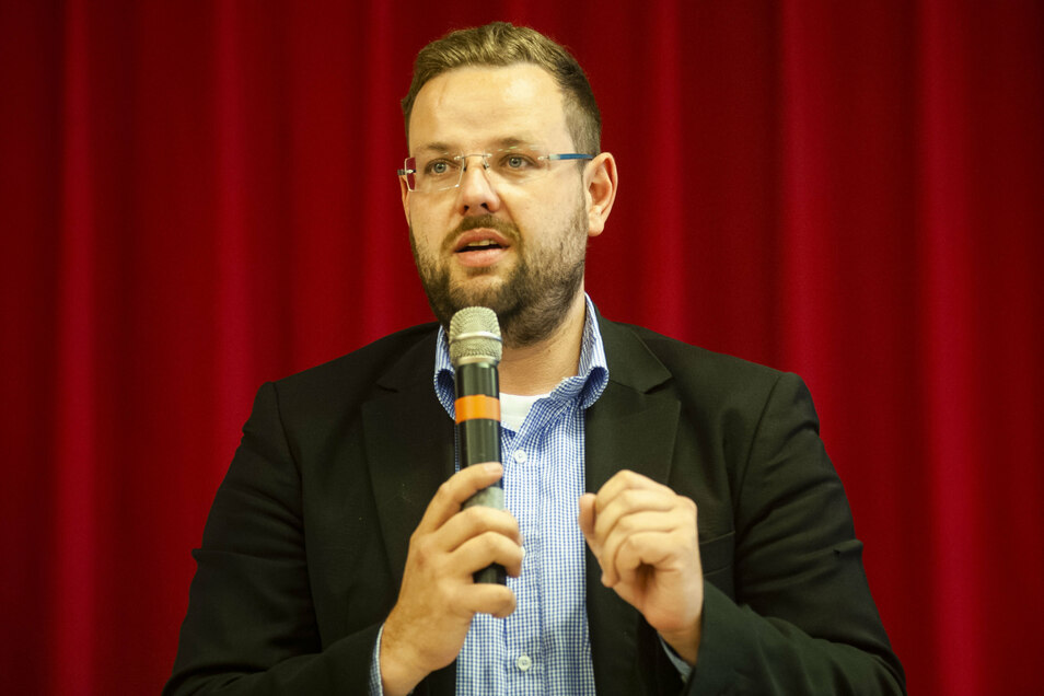 Auch CDU-Kreischef Sebastian Fischer würde gern die Nachfolge des derzeitigen Meißner Direktabgeordneten im Bundestag Thomas de Maizière (CDU) antreten.