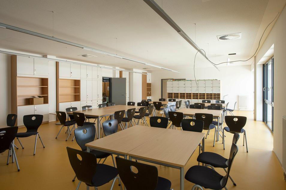 So sieht das künftige Lehrerzimmer aus,