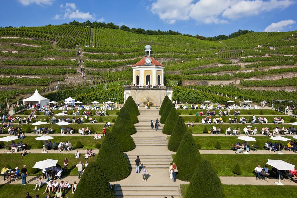 Schloss Wackerbarth ist Europas erstes Erlebnisweingut.