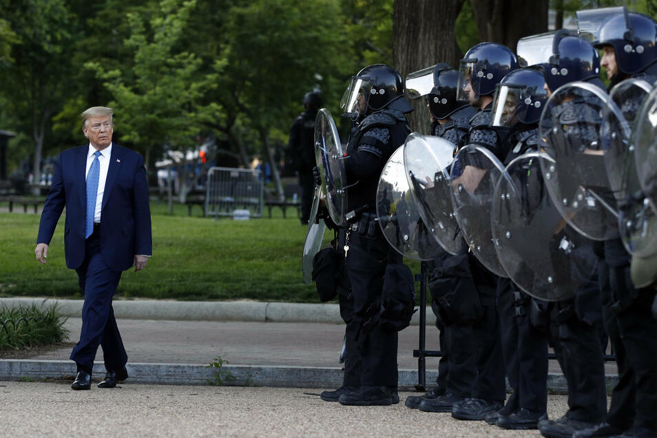 US-Präsident Trump droht mit Einsatz der Armee