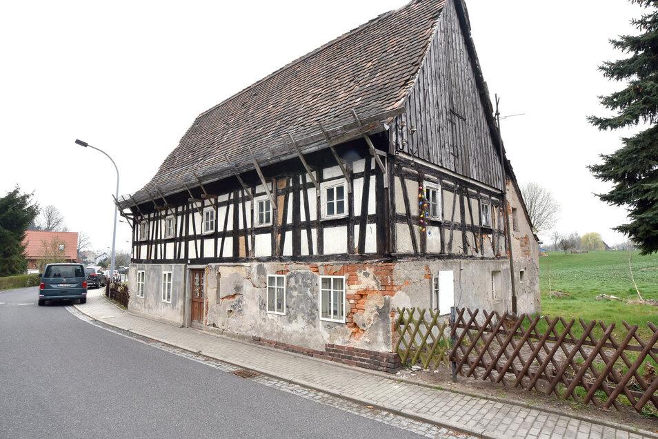 """Die """"alte Lotte"""" in der Geschwister-Scholl-Straße 79 ist das älteste Haus in Eckartsberg."""