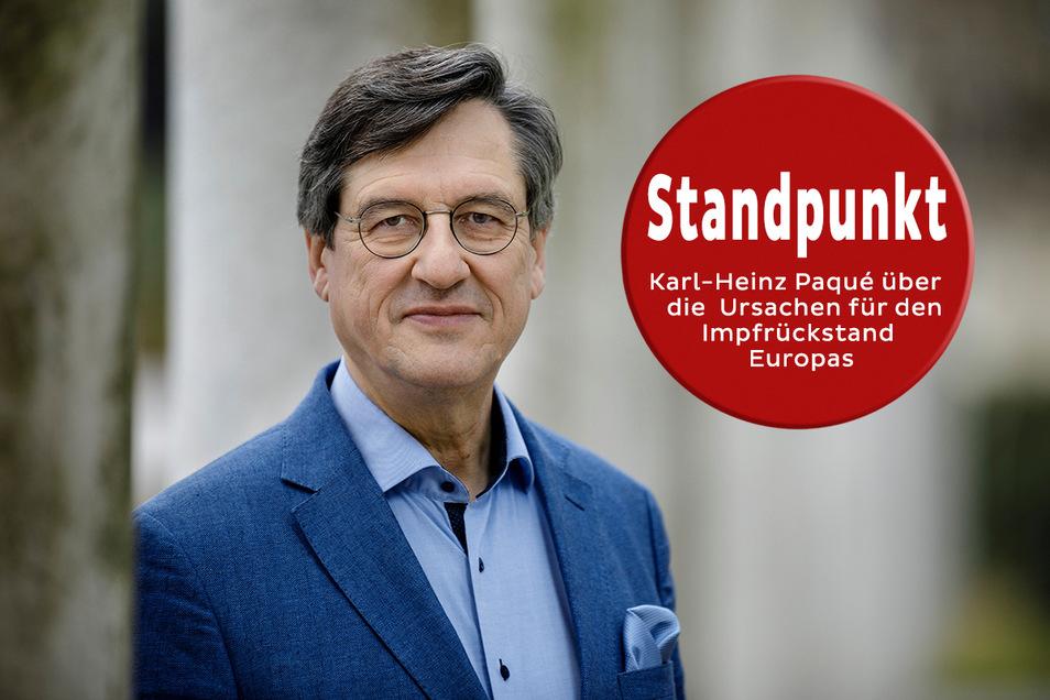 Karl-Heinz Paqué, Vorsitzender der Friedrich-Naumann-Stiftung, kritisiert die träge Bürokratie in Deutschland.
