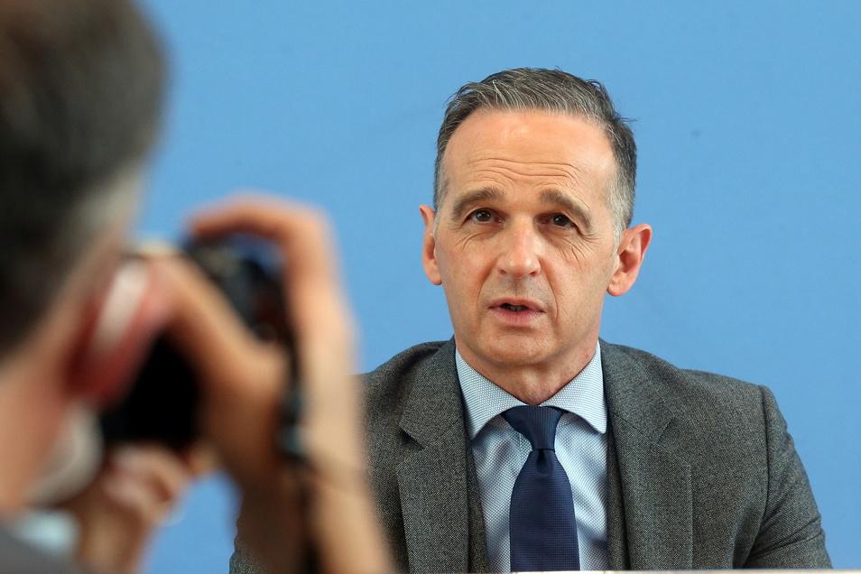 Bundesaußenminister Heiko Maas will nach Israel und in die  Palästinensischen Gebiete reisen.