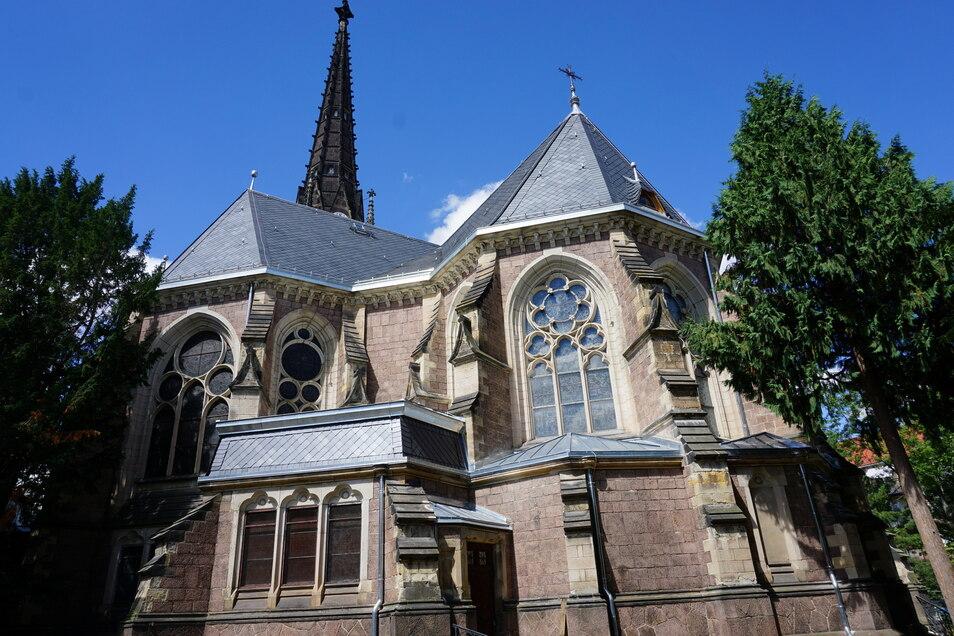 Die Bauarbeiten zur Sanierung und Modernisierung der Johanneskirche werden sich bis ins Jahr 2023 erstrecken.