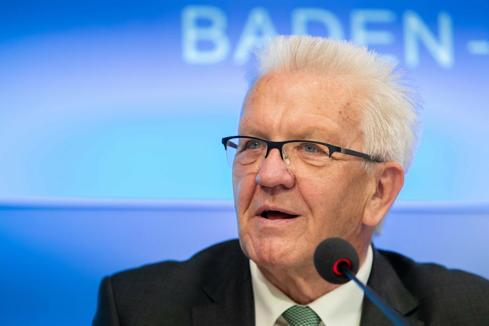 Ist am Freitag im Schiller-Gymnasium Bautzen zu Gast: Baden-Württembergs Ministerpräsident Winfried Kretschmann (Bündnis 90/Die Grünen).