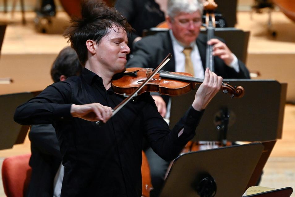 Joshua Bell begeistert am Wochenende in der Semperoper.