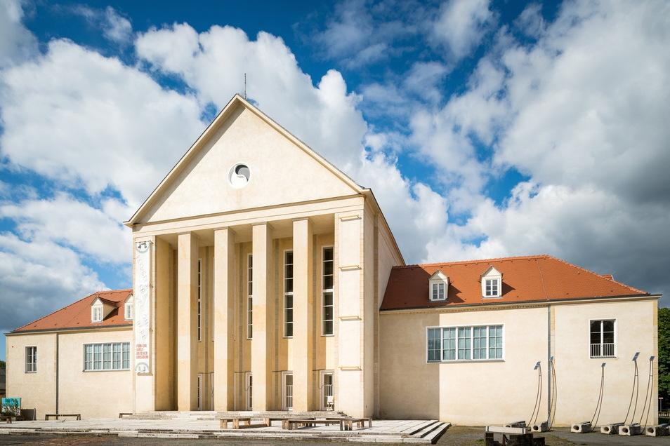 """Das Festspielhaus Hellerau in Dresden ist Ort des """"Tonlagen""""-Festivals."""