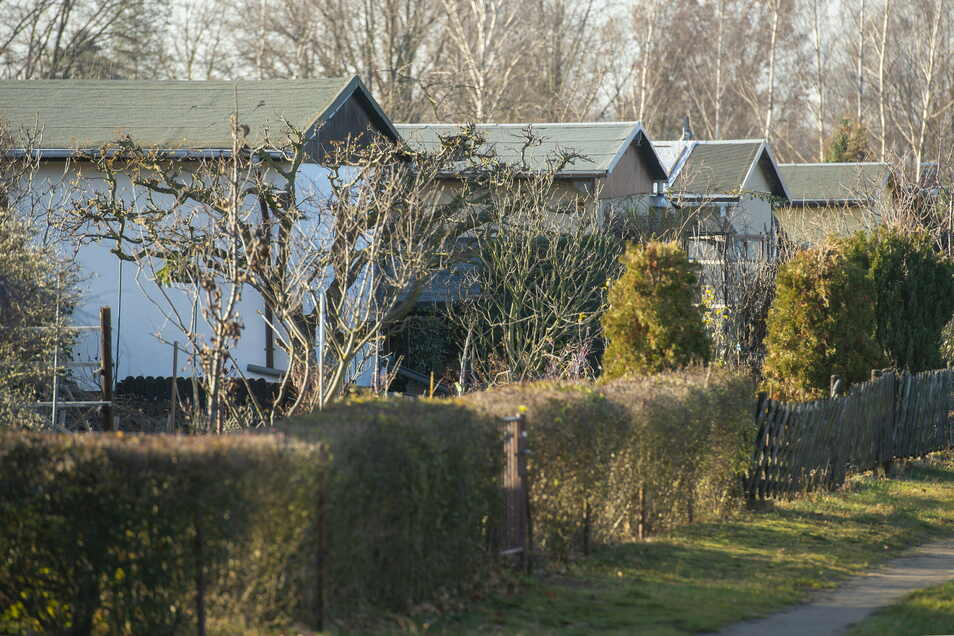 """""""Gleisdreieck 1 e.V."""" in Coswig gehört zu den 127 Kleingartensparten im Kreis. Sie bieten Tausenden Familien Erholung."""