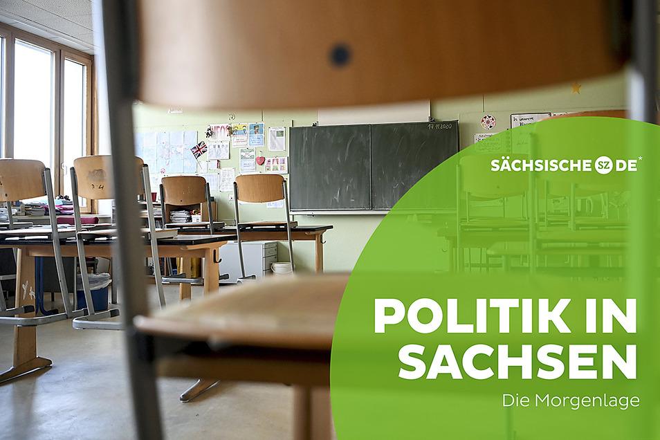 Die Klassenzimmer in Sachsen werden wohl noch eine ganze Weile leer bleiben.