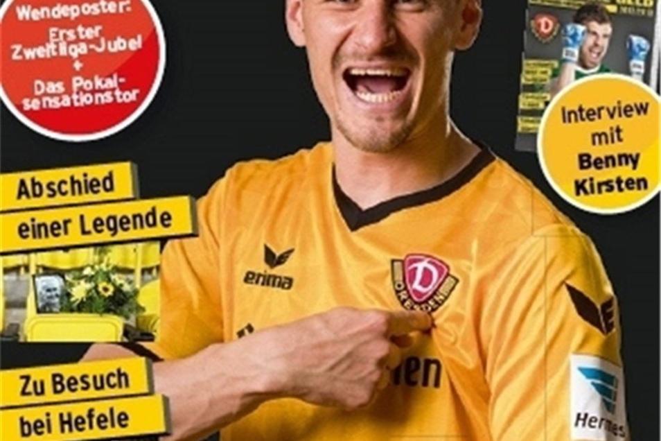 Das Saison-Magazin Schwarz-Gelb mit Interviews mit Stefan Kutschke und Benjamin Kirsten ist für 8,90 Euro ab 7. Juni erhältlich in allen SZ-Shops und: www.editionSZ.de