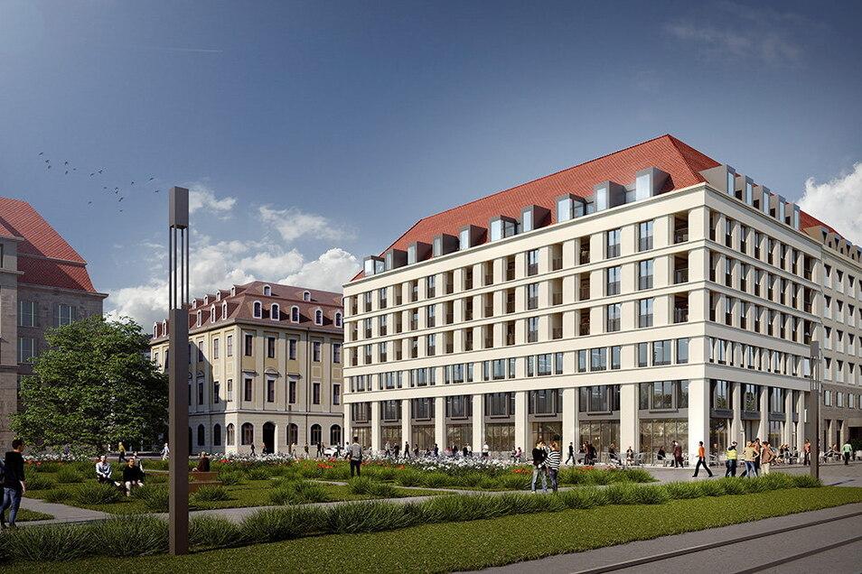 Der Neubau an der Ringstraße musste überarbeitet werden. Den jetzigen Entwurf lobte die Kommission.