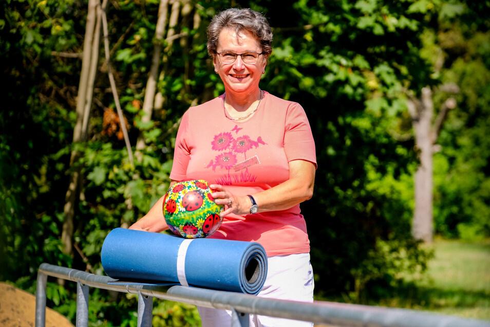 Hat selbst erfolgreich gegen den Krebs gekämpft und hilft anderen – Regine Scheer.