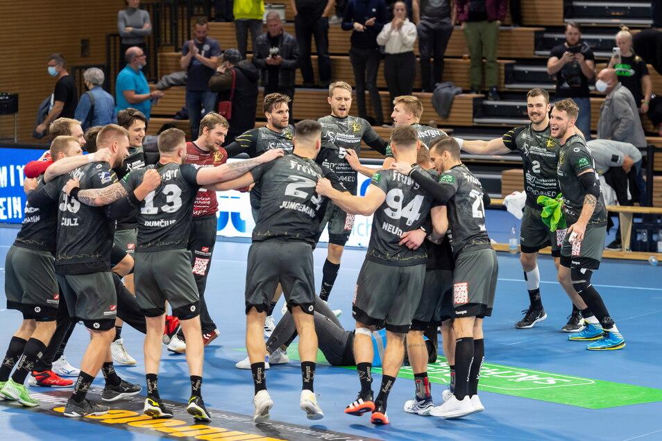 Der HC Elbflorenz konnte gegen Rostock den ersten Heimsieg der neuen Spielzeit feiern.