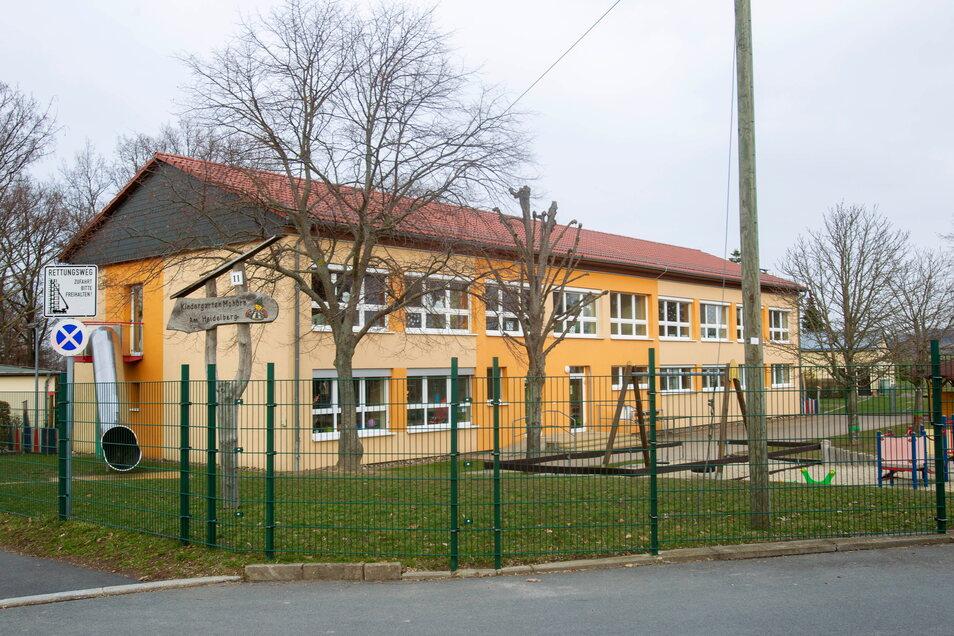Der Kindergarten in Mohorn soll um einen Anbau erweitert werden. Hier sollen 80 Plätze entstehen.
