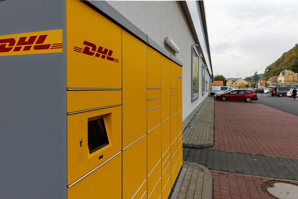 Packstation am Lidl in Bad Schandau: Kontaktlos Päckchen versenden und empfangen.
