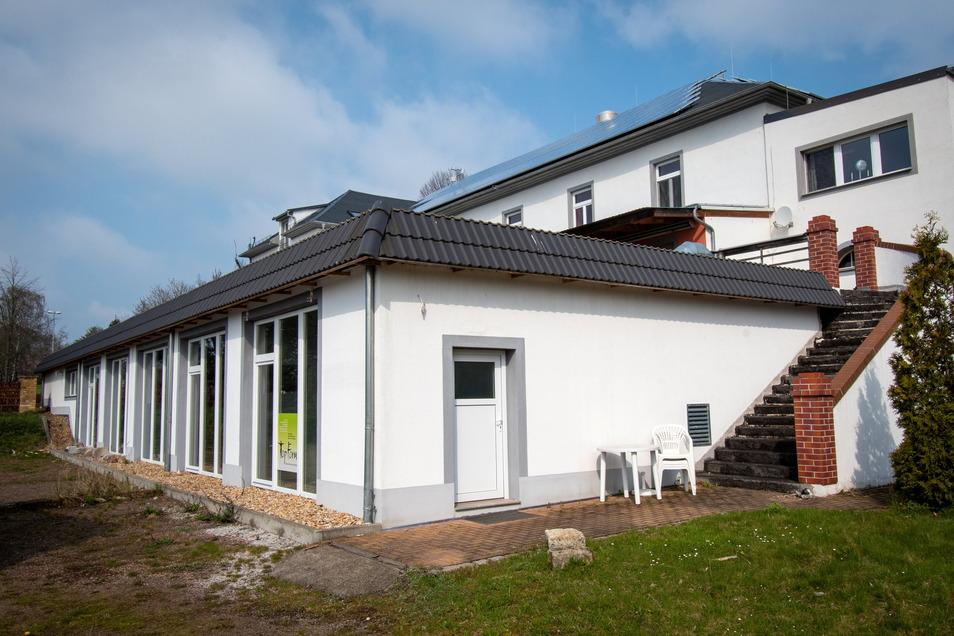 Nach bisherigen Plänen soll im Nebengebäude des Schützenhauses ein offener Freizeittreff für Kinder und Jugendliche aus Leisnig und Umgebung entstehen.