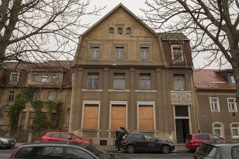 Die ehemalige Poliklinik an der Mozartallee in Großenhain wird ein Mehrfamilienhaus.