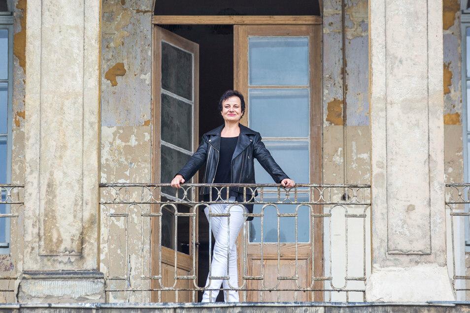 Schloss Übigau statt Opernhaus: Carolin Masur spielt zum ersten Mal für die Dresdner Comödie.
