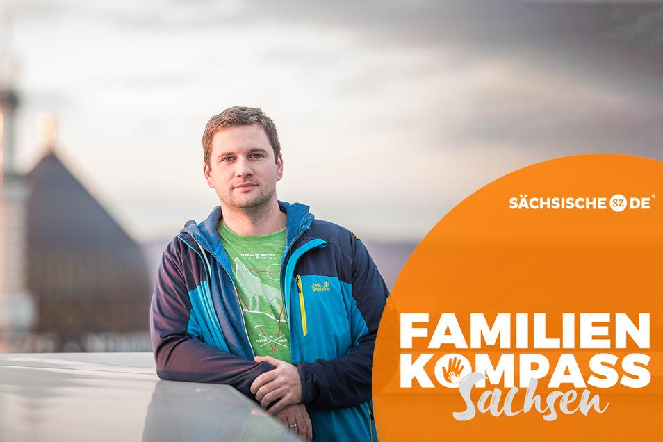 """Sprecher des Stadtelternrats Sascha König-Apel: """"Gute Kinderbetreuung ist ein Standortvorteil."""""""