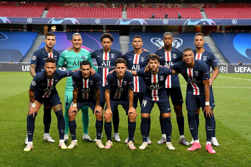 Die Elf von Paris Saint-Germain.