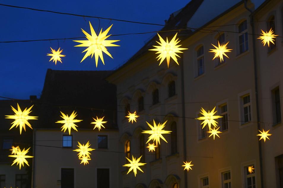 Genauso wie der Sternenhimmel am Johannisplatz.