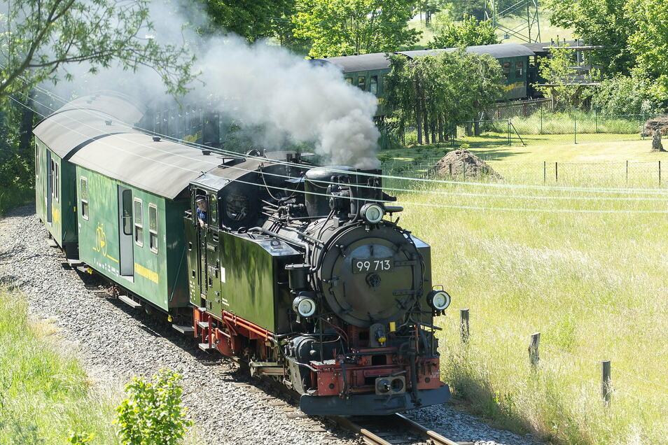 Auch die Fahrt mit der Lößnitzgrundbahn von Radebeul-Ost über Moritzburg nach Radeburg wird teurer.