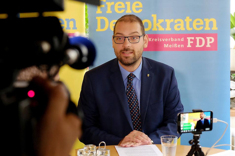 Der Meißner FDP-Stadtrat Martin Bahrmann fordert mehr Transparenz.