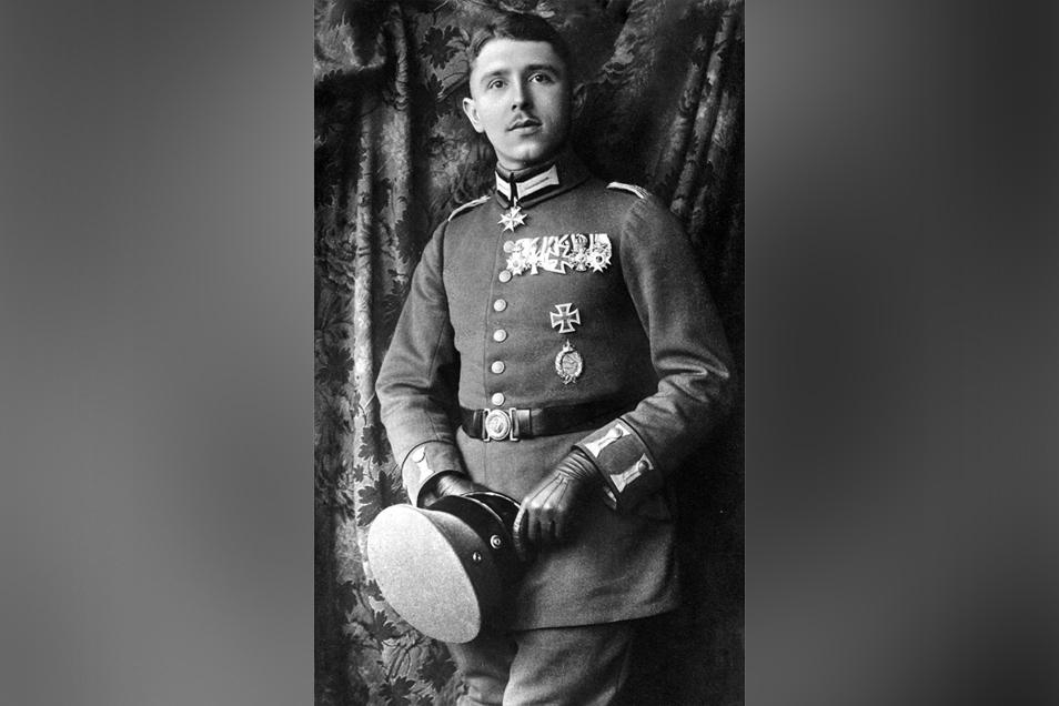 Der Dresdner Max Immelmann war ein bekannter Jagdflieger im Ersten Weltkrieg.