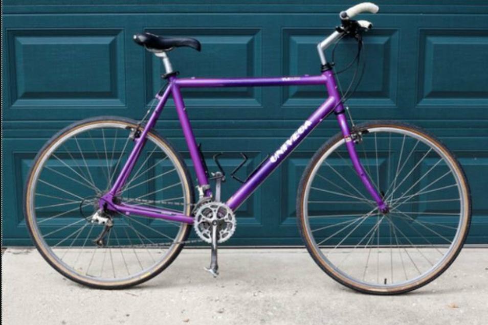 Der Vermisste ist vermutlich mit diesem auffälligen Fahrrad unterwegs.