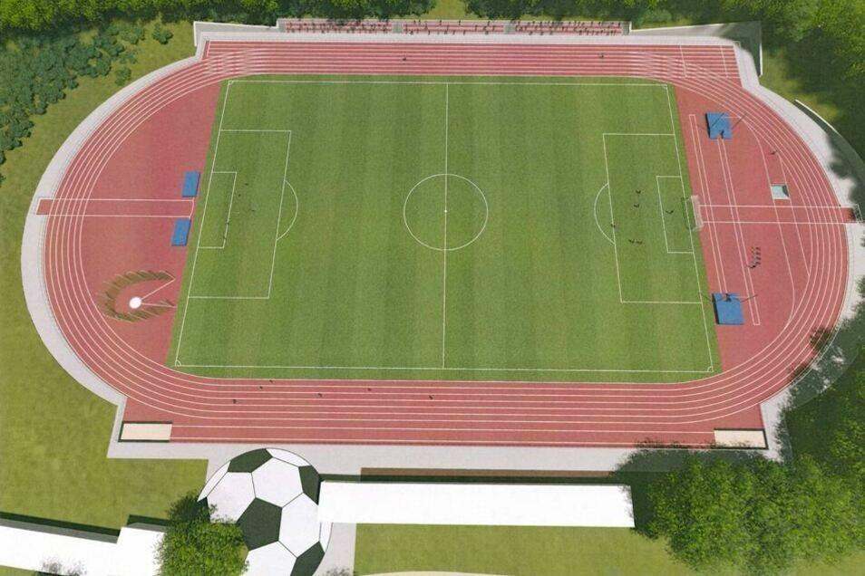 Das Stadion der Freundschaft in Görlitz steht nach langer Corona-Pause wieder für Vereine zur Verfügung.