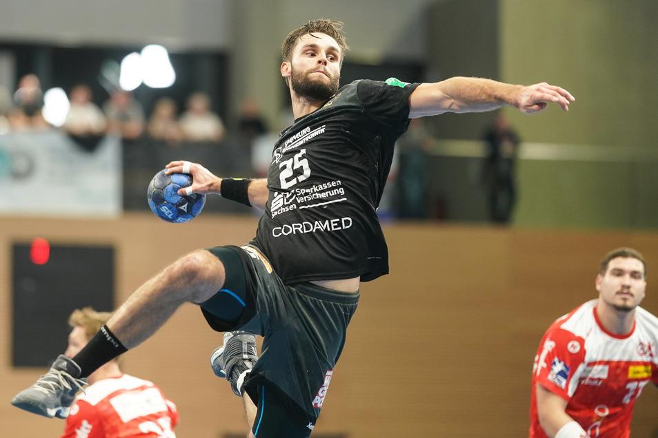 Sebastian Greß wirft bis 2022 für den HC Elbflorenz.