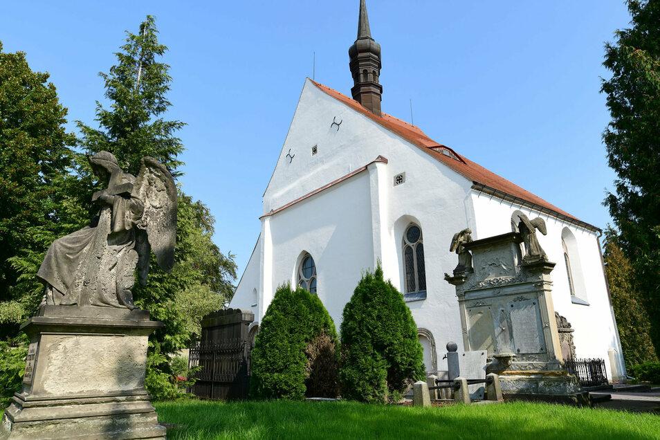 Die Frauenkirche in Zittau.