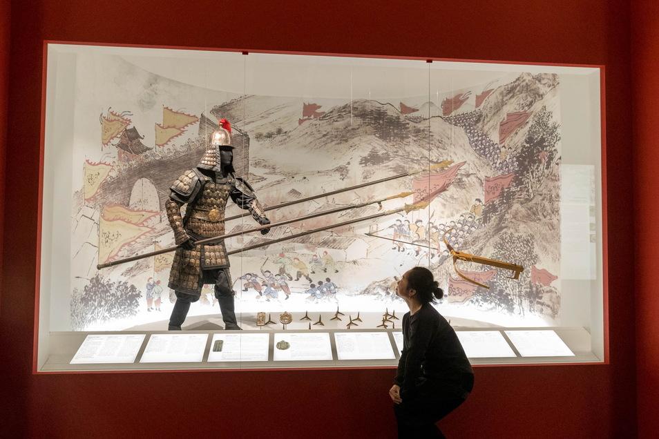 Ein Stück China auf dem Königstein: 2017 wurde auf der Festung eine Sonderausstellung über die Stadtmauer von Nanjing eröffnet - eine der längsten erhaltenen Stadtmauern der Welt.