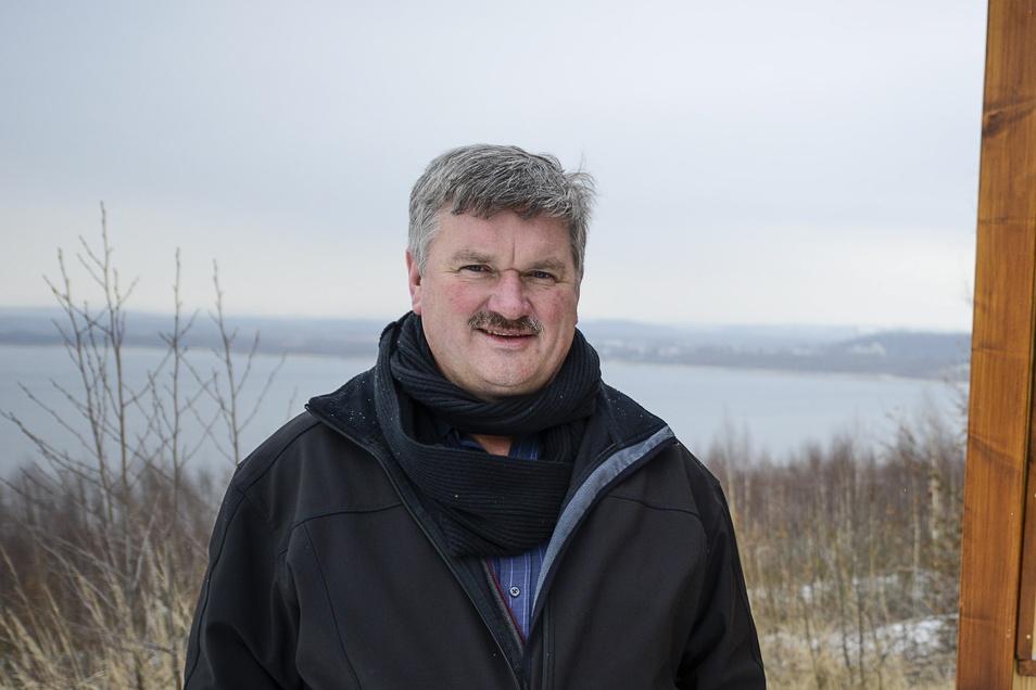 Thomas Knack ist Bürgermeister von Markersdorf und gehört zur Wählervereinigung Friedersdorf.