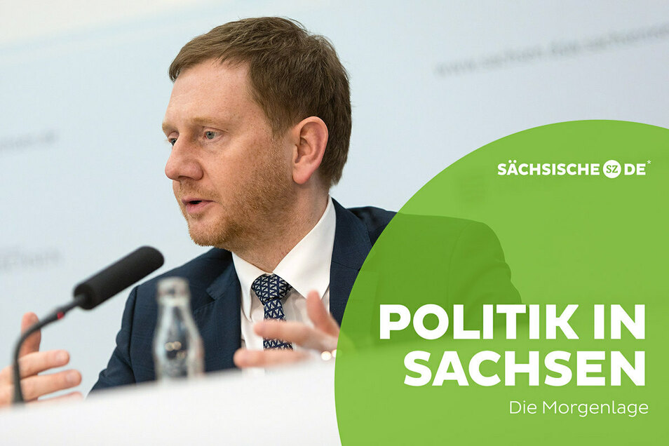 Sachsens Ministerpräsident Michael Kretschmer sorgt mit einer Äußerung zu Impfterminen für Jugendliche für Verwirrung.