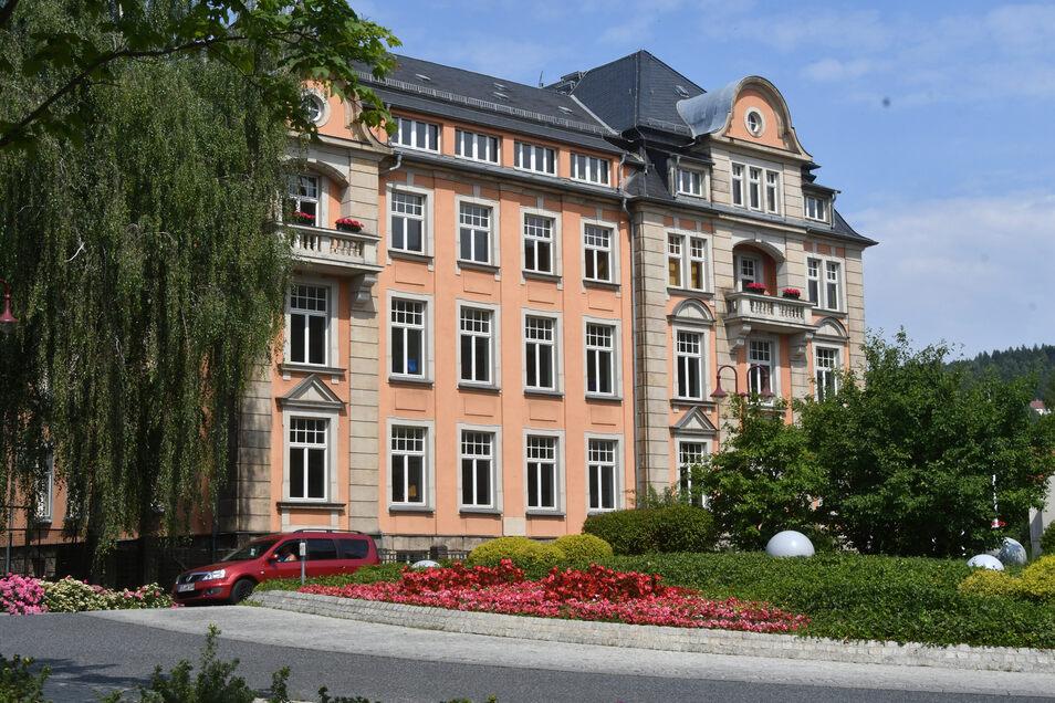 Die Grundschule Schandauer Straße in Sebnitz wird modernisiert.