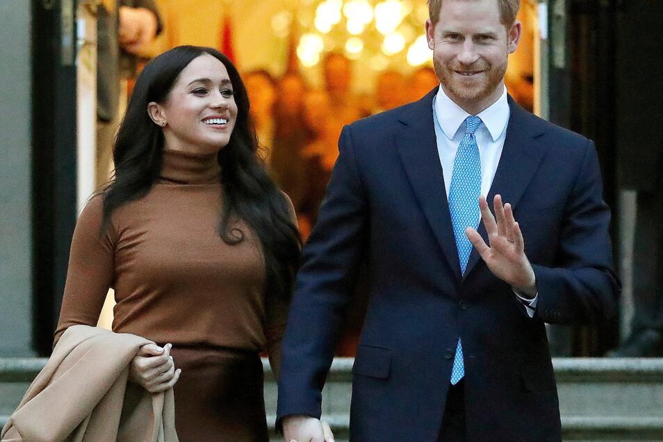 Prinz Harry und Meghan sprechen von einer Schmutzkampagne gegen sie.