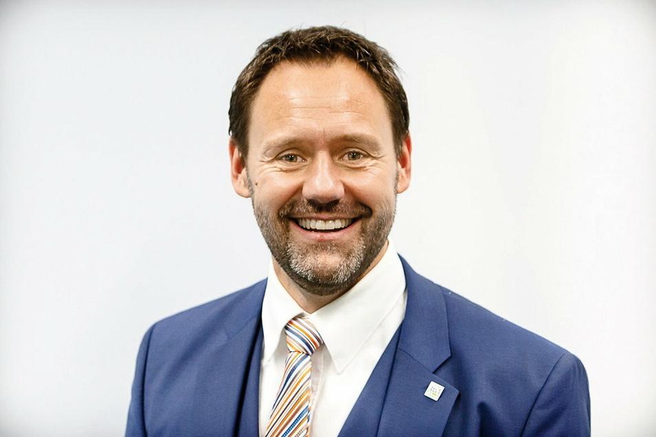 Hat gerade nichts zu Lachen: Christian Dahms, der Generalsekretärs des Landessportbundes Sachsen.