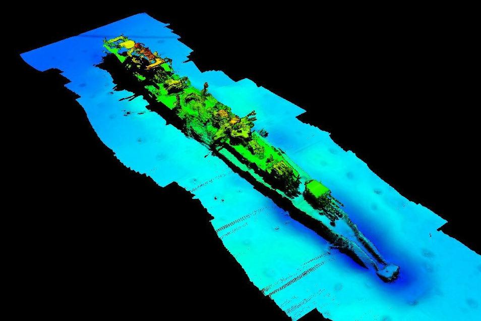 Vor der Südküste Norwegens ist das Wrack eines deutschen Kriegsschiffs aus dem Zweiten Weltkrieg gefunden worden. Die «Karlsruhe» war am 9. April 1940 von einem britischen Torpedo getroffen worden.