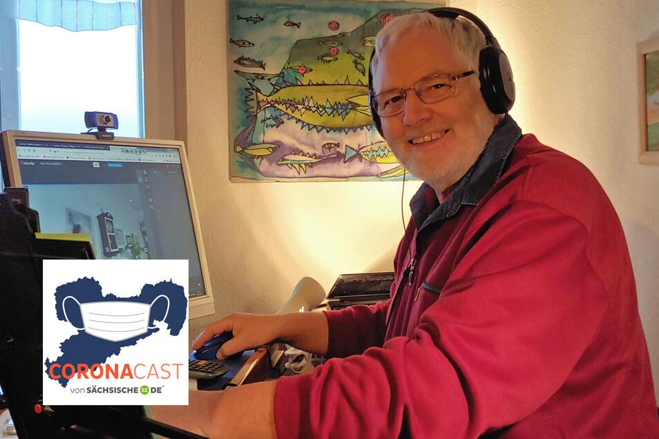 Der Lehrer Eberhard Müller ist seit mehreren Jahren für seine Schüler voll auf Digitalisierungskurs. Im CoronaCast erklärt er, wieso LernSax ein gutes Instrument ist.
