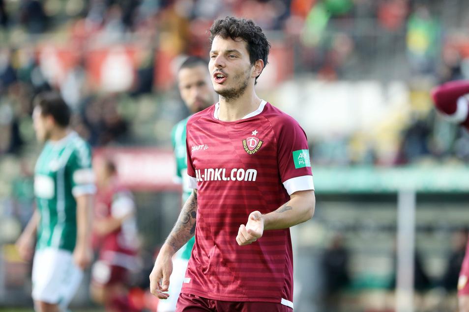 Er erzielte das Tor des Tages gegen den VfB Lübeck. Nach dem Spiel stand Philipp Hosiner zum Interview bereit.
