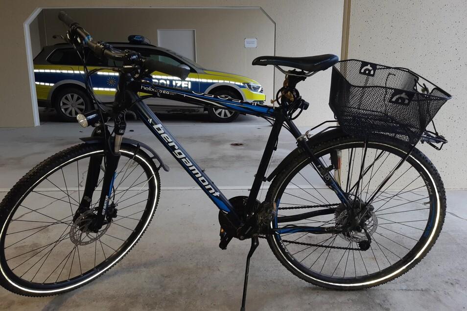So sieht das sichergestellte Fahrrad aus.